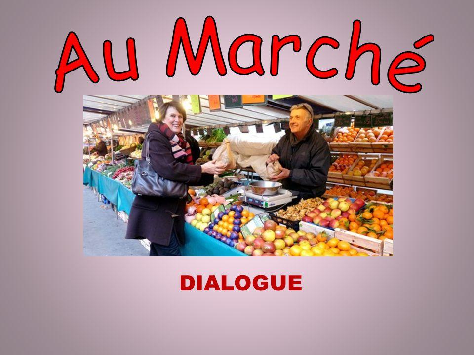 Au Marché DIALOGUE