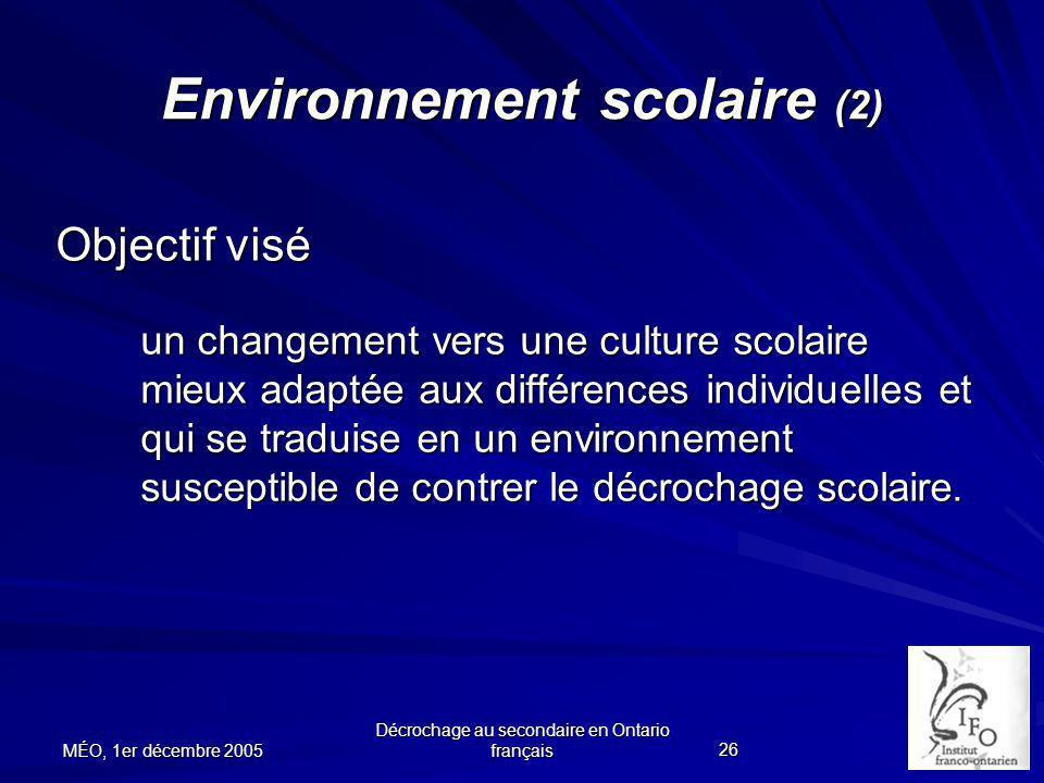 Environnement scolaire (2)