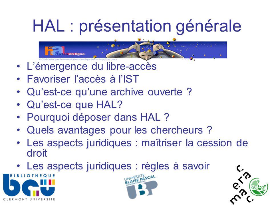 HAL : présentation générale