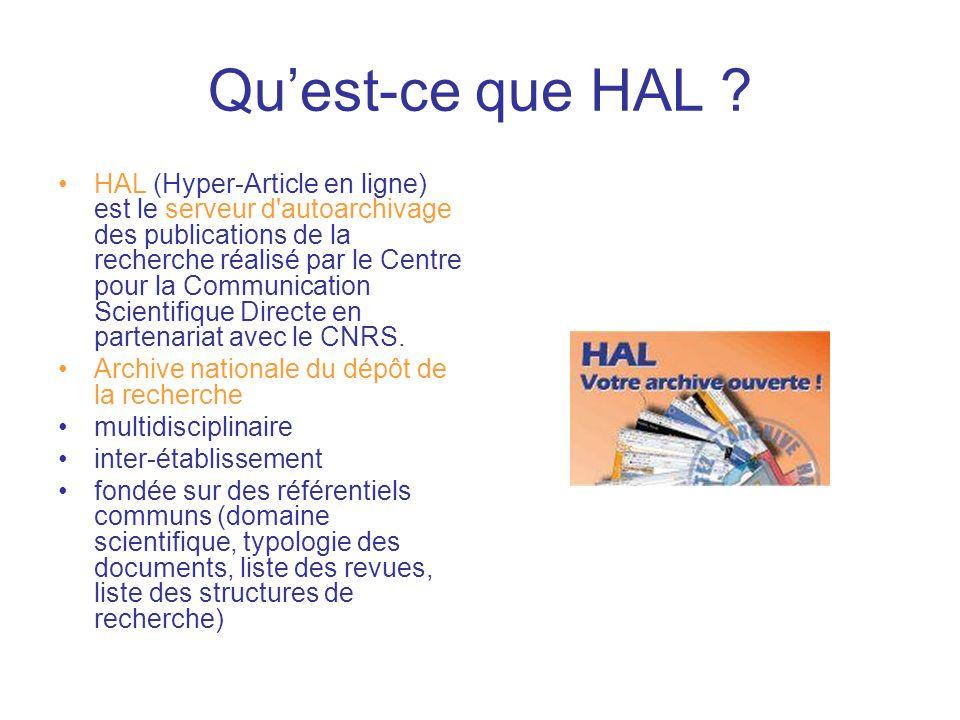 Qu'est-ce que HAL