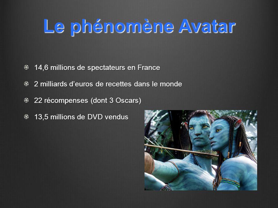 Le phénomène Avatar 14,6 millions de spectateurs en France