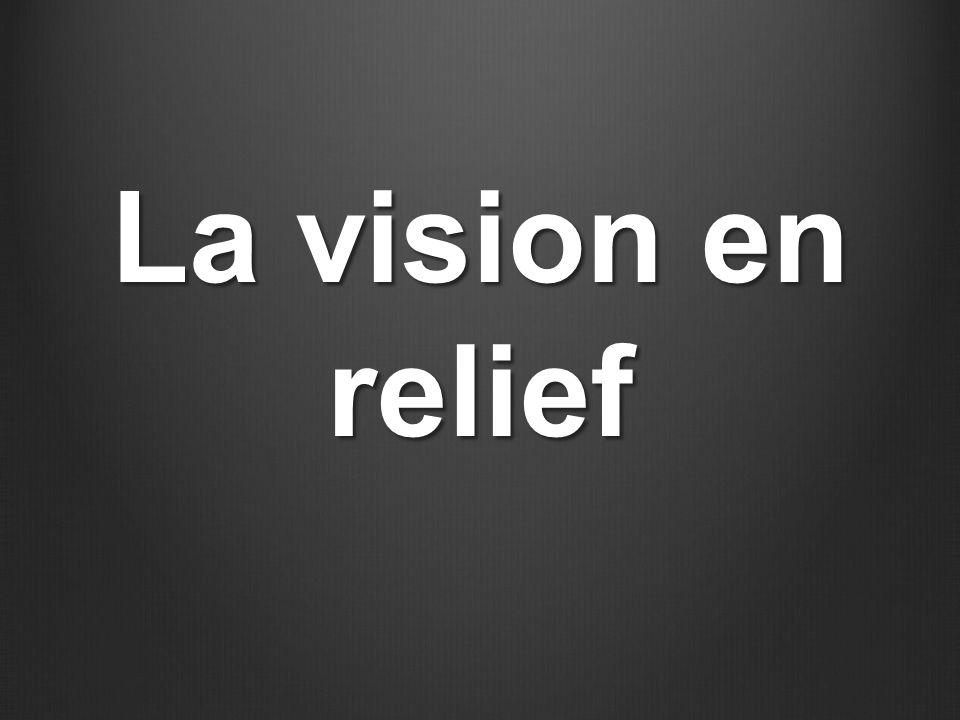 La vision en relief