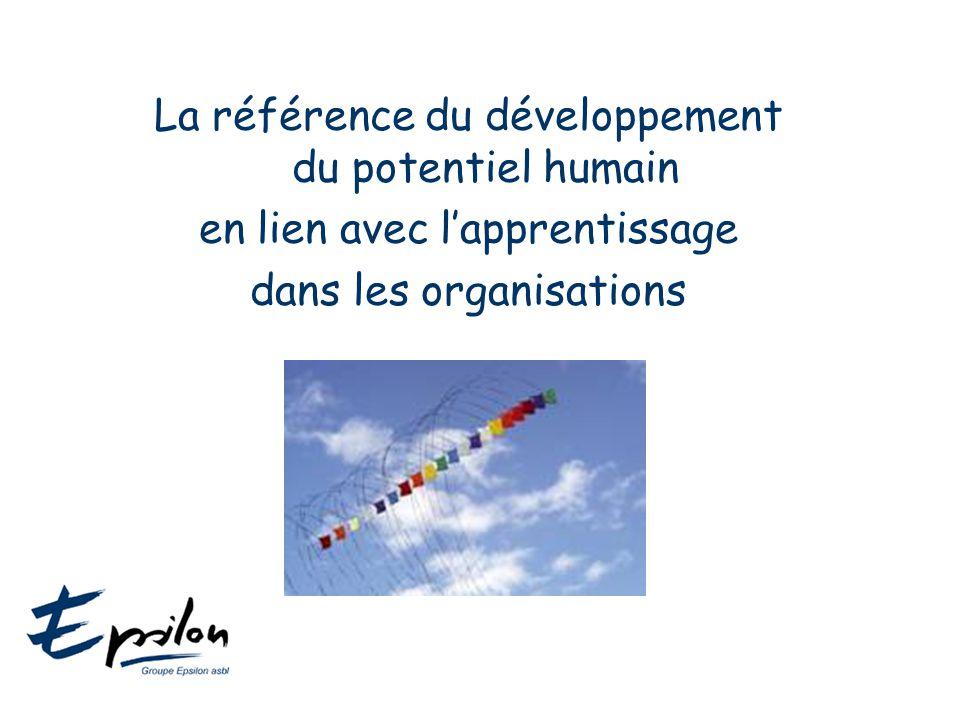La référence du développement du potentiel humain