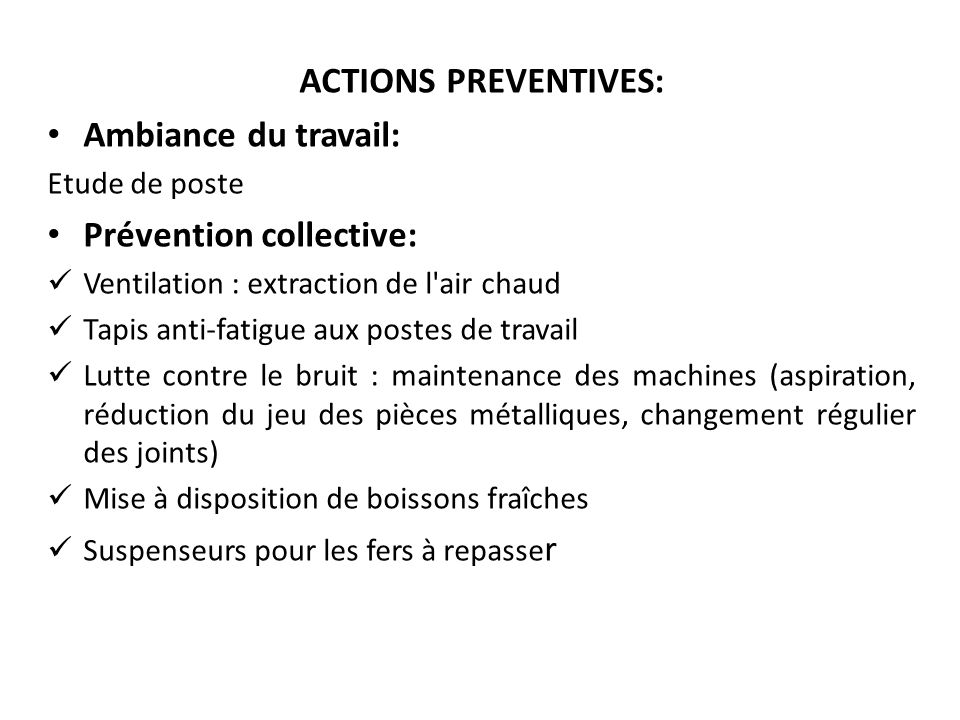 Prévention collective: