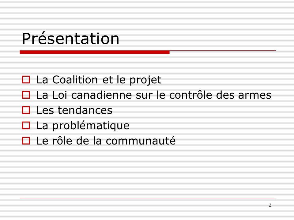 Présentation La Coalition et le projet