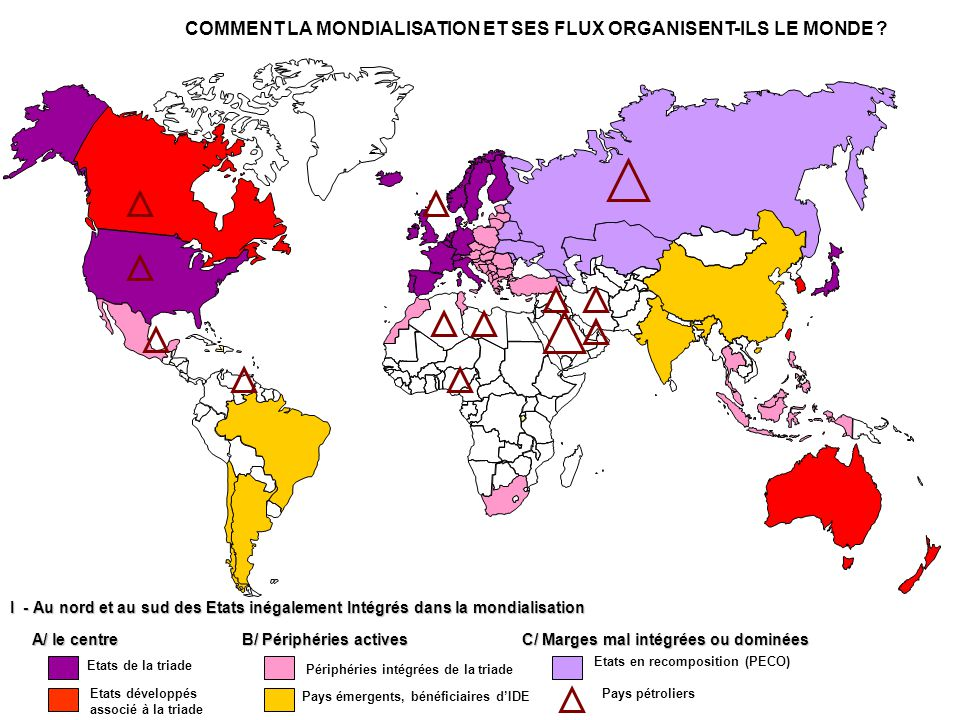 COMMENT LA MONDIALISATION ET SES FLUX ORGANISENT-ILS LE MONDE