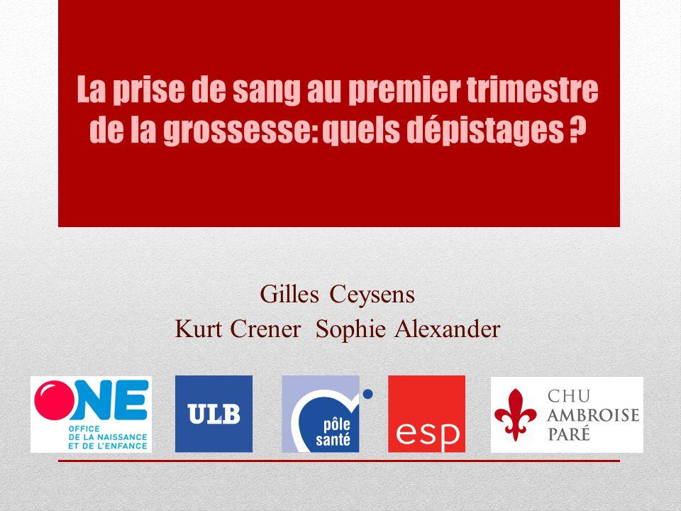 Gilles Ceysens Kurt Crener Sophie Alexander