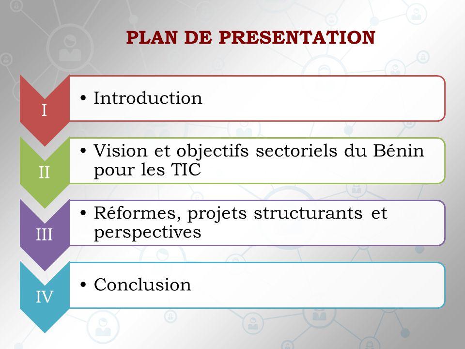 PLAN DE PRESENTATION Introduction