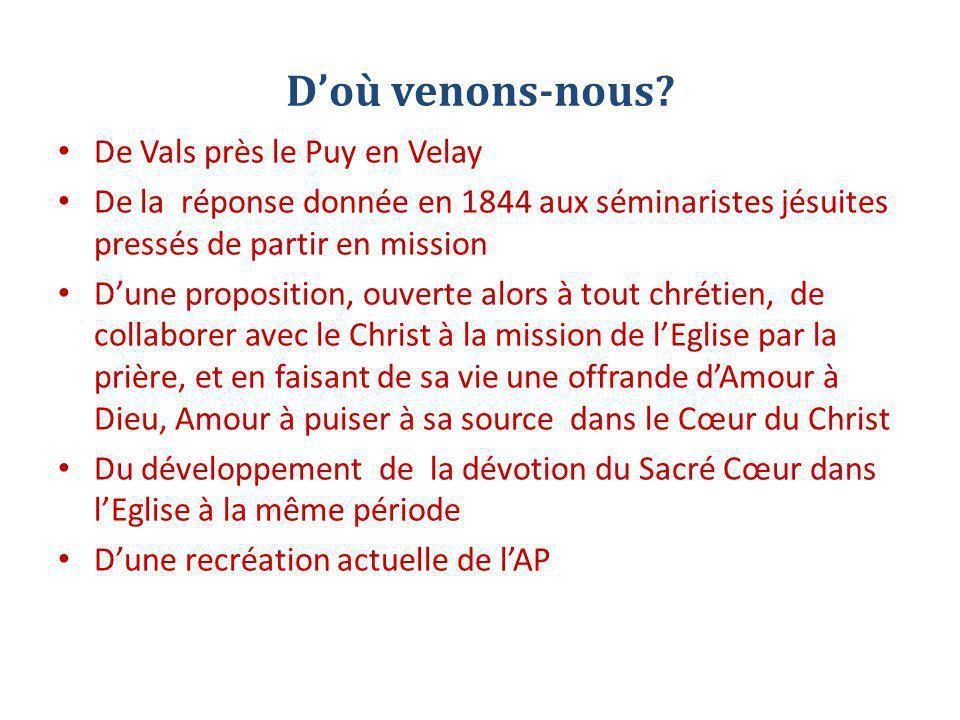D'où venons-nous De Vals près le Puy en Velay