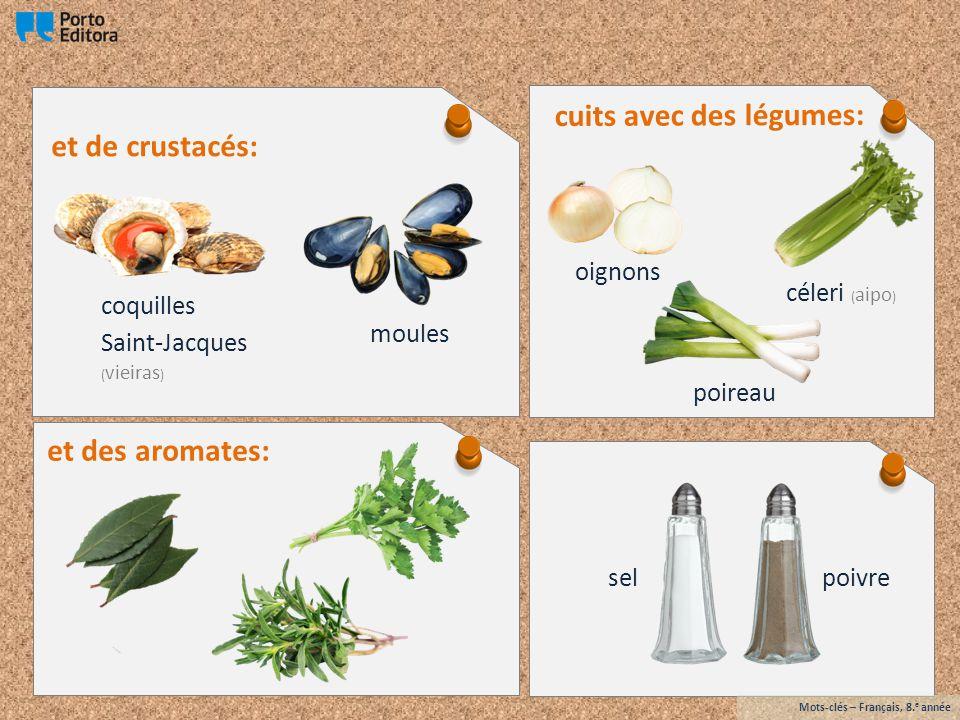 cuits avec des légumes: