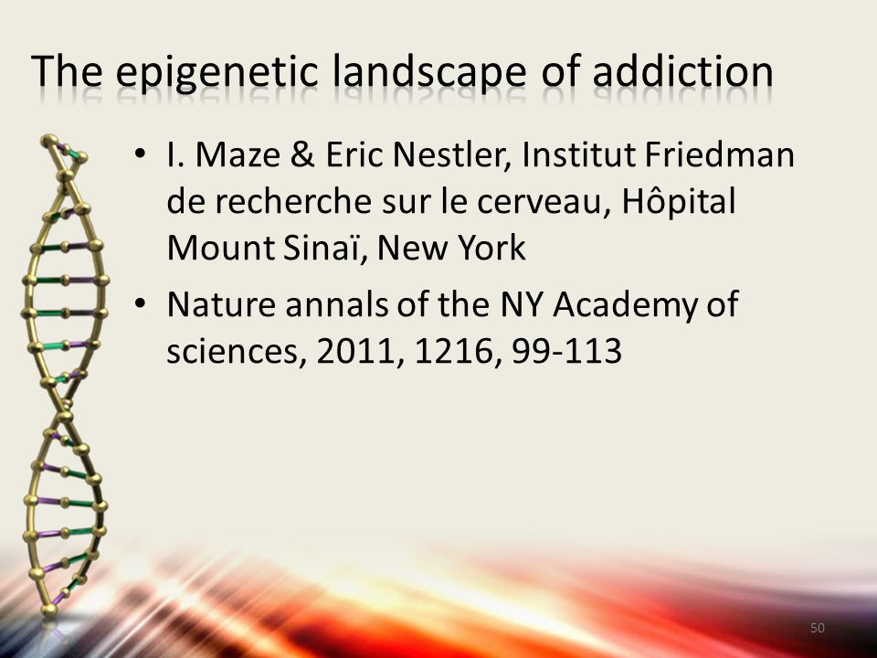 The epigenetic landscape of addiction