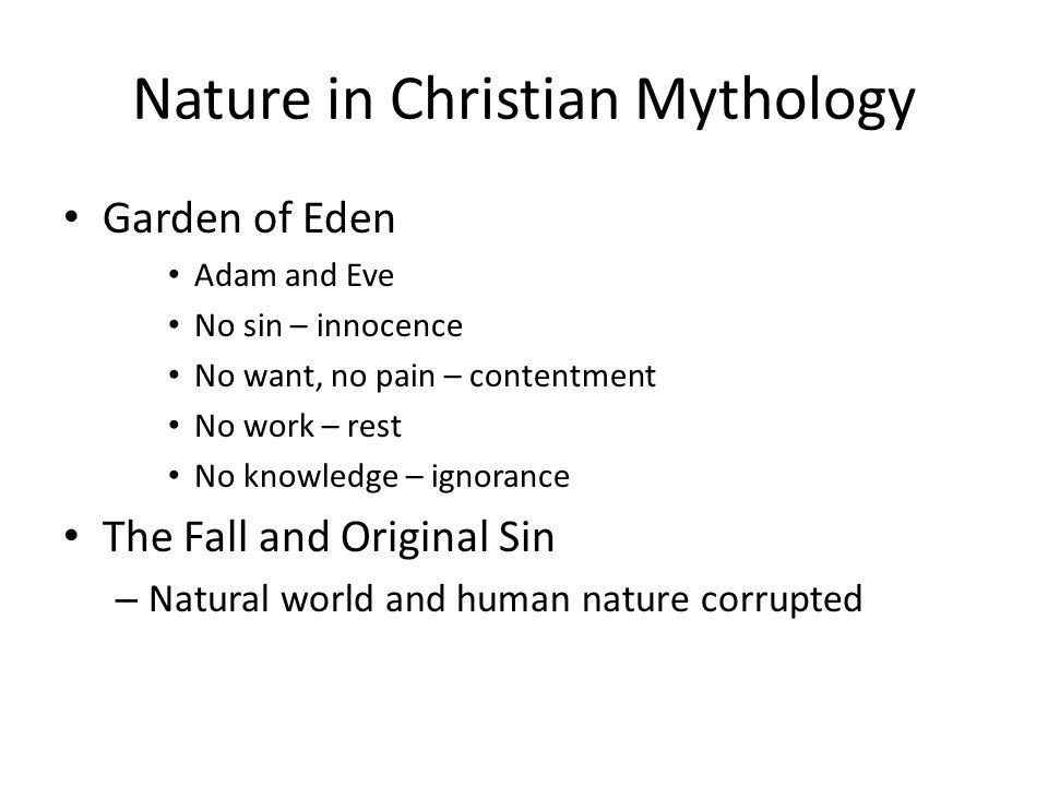 Nature in Christian Mythology