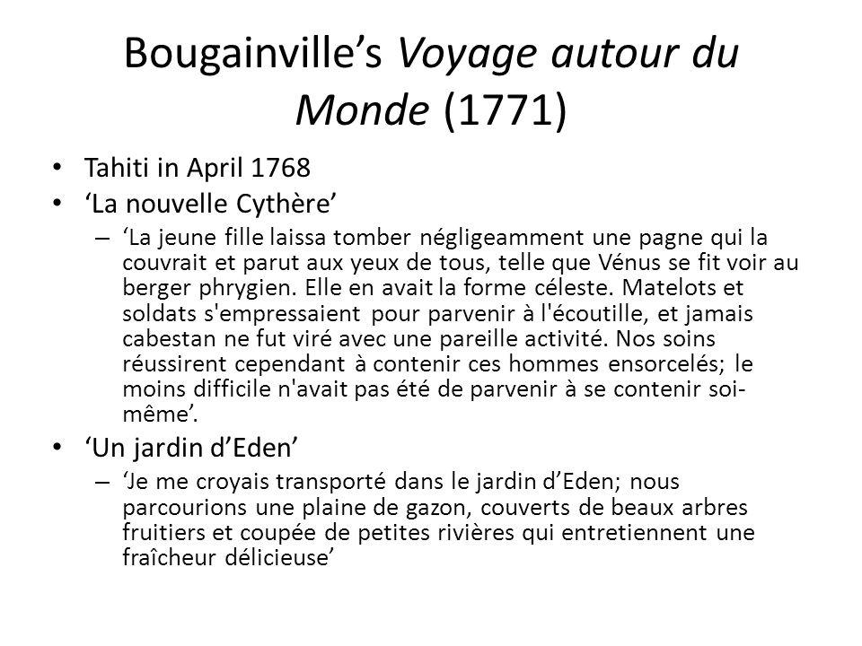 Bougainville's Voyage autour du Monde (1771)