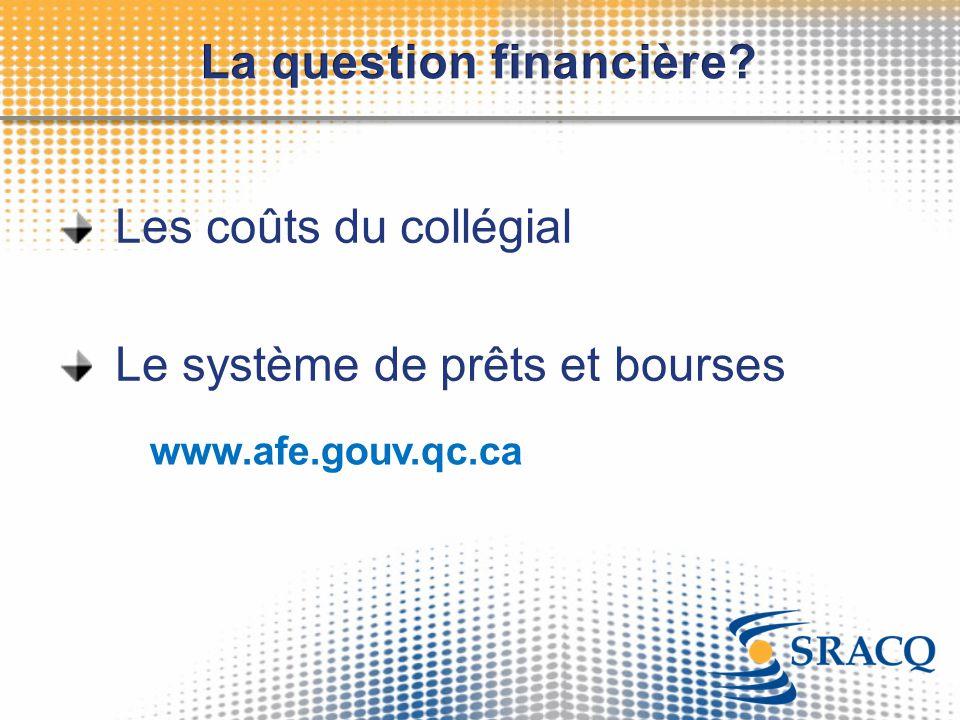 La question financière