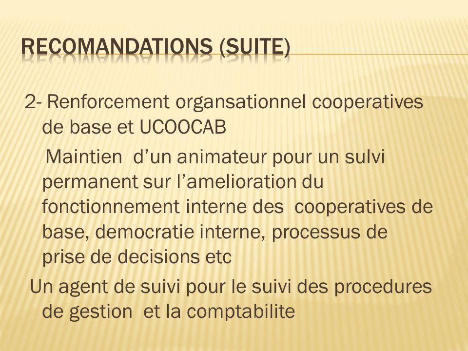 Recomandations (suite)