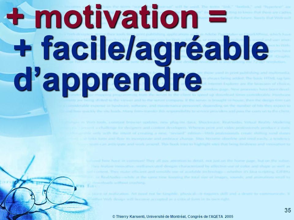 © Thierry Karsenti, Université de Montréal, Congrès de l AQETA 2005