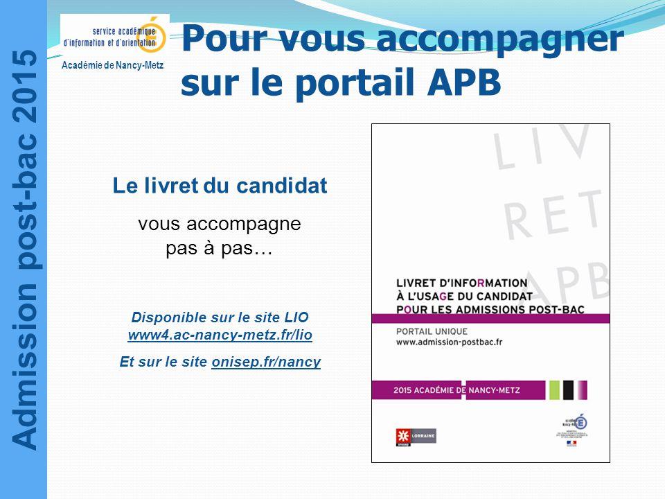 Pour vous accompagner sur le portail APB