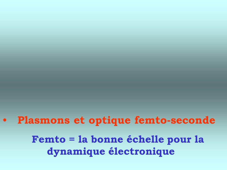 Plasmons et optique femto-seconde