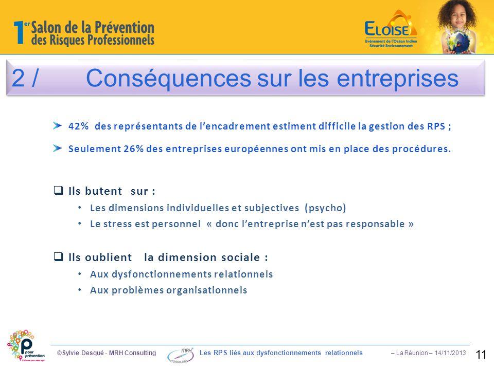 2 / Conséquences sur les entreprises