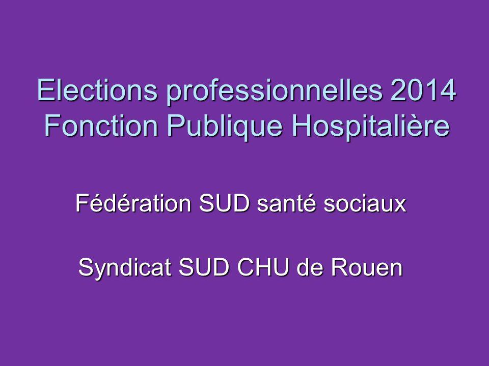 Elections professionnelles 2014 Fonction Publique Hospitalière