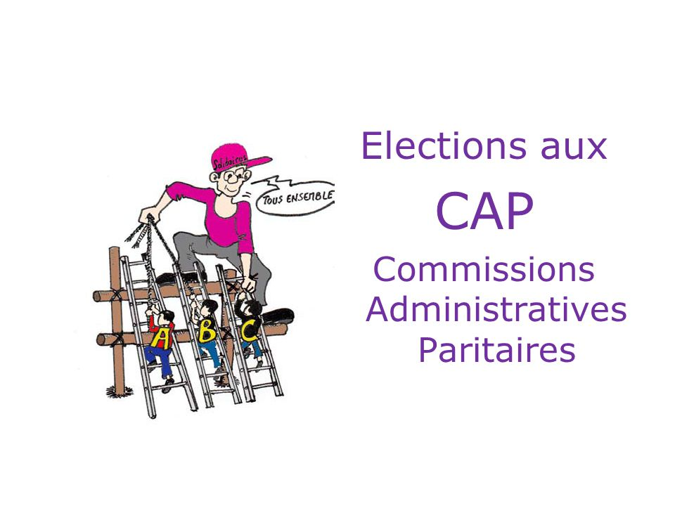 Commissions Administratives Paritaires