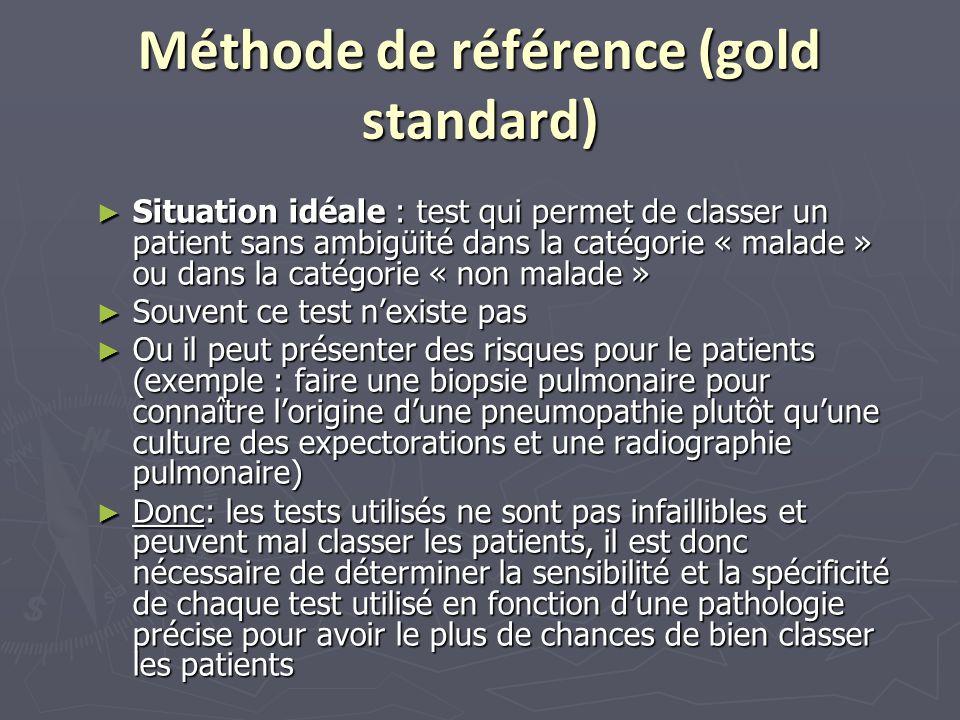 Méthode de référence (gold standard)