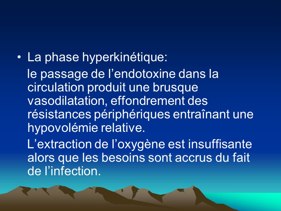 La phase hyperkinétique: