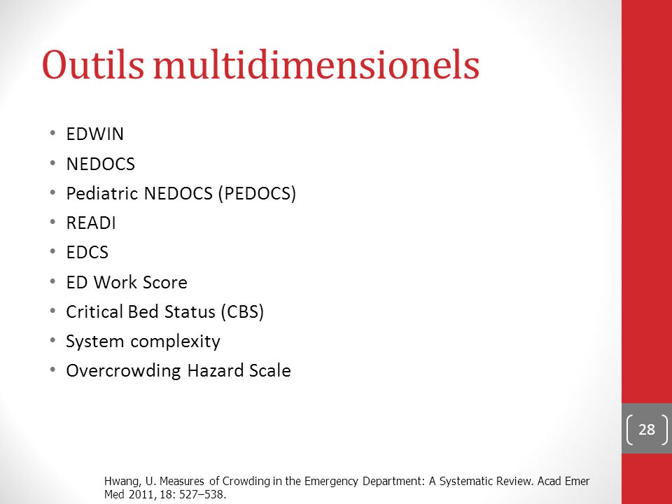 Outils multidimensionels
