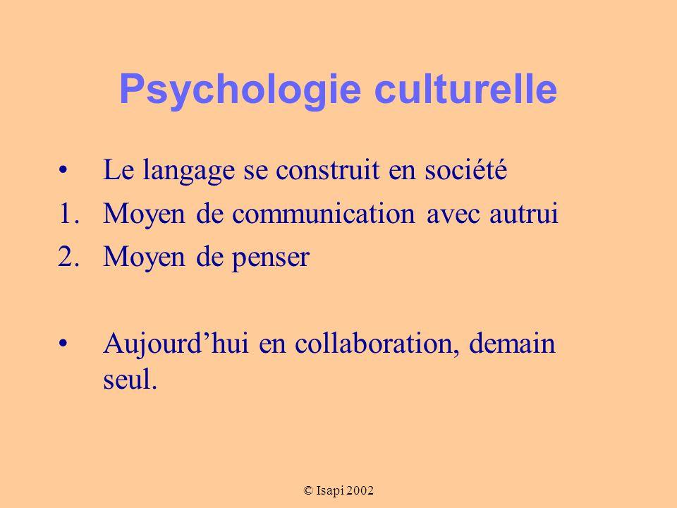 Psychologie culturelle