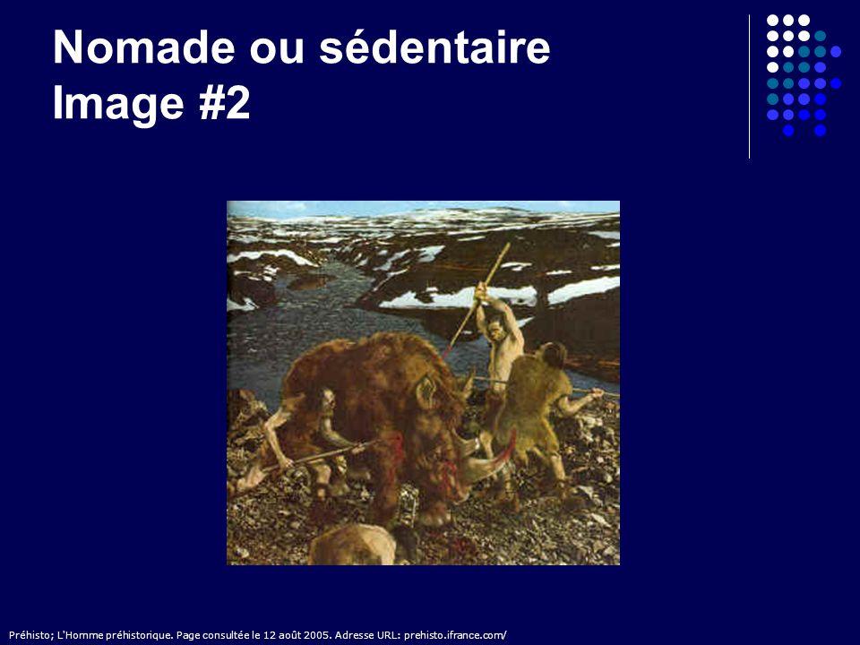 Nomade ou sédentaire Image #2