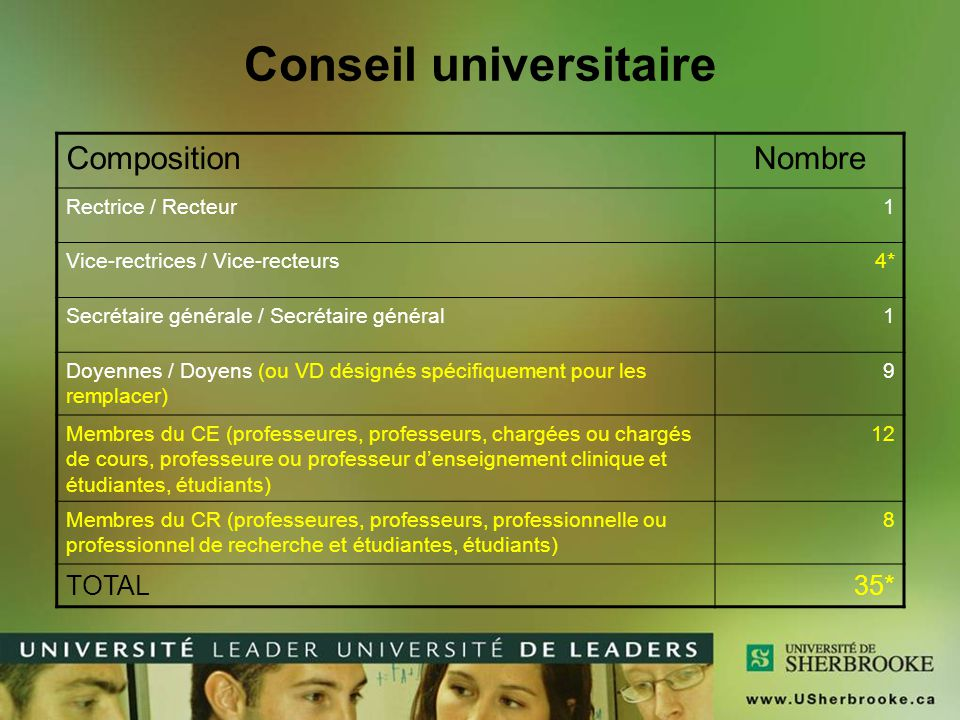 Conseil universitaire