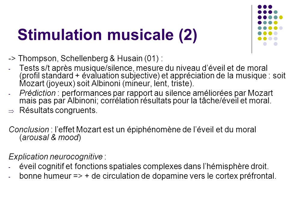 Stimulation musicale (2)