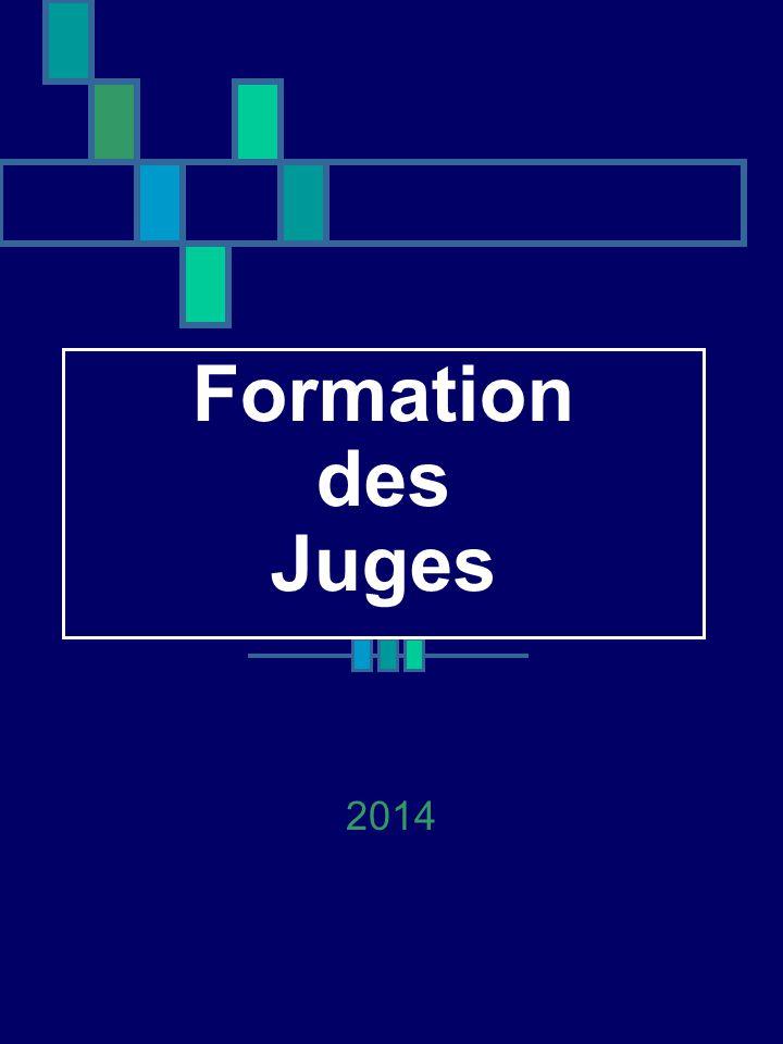 Formation des Juges 2014
