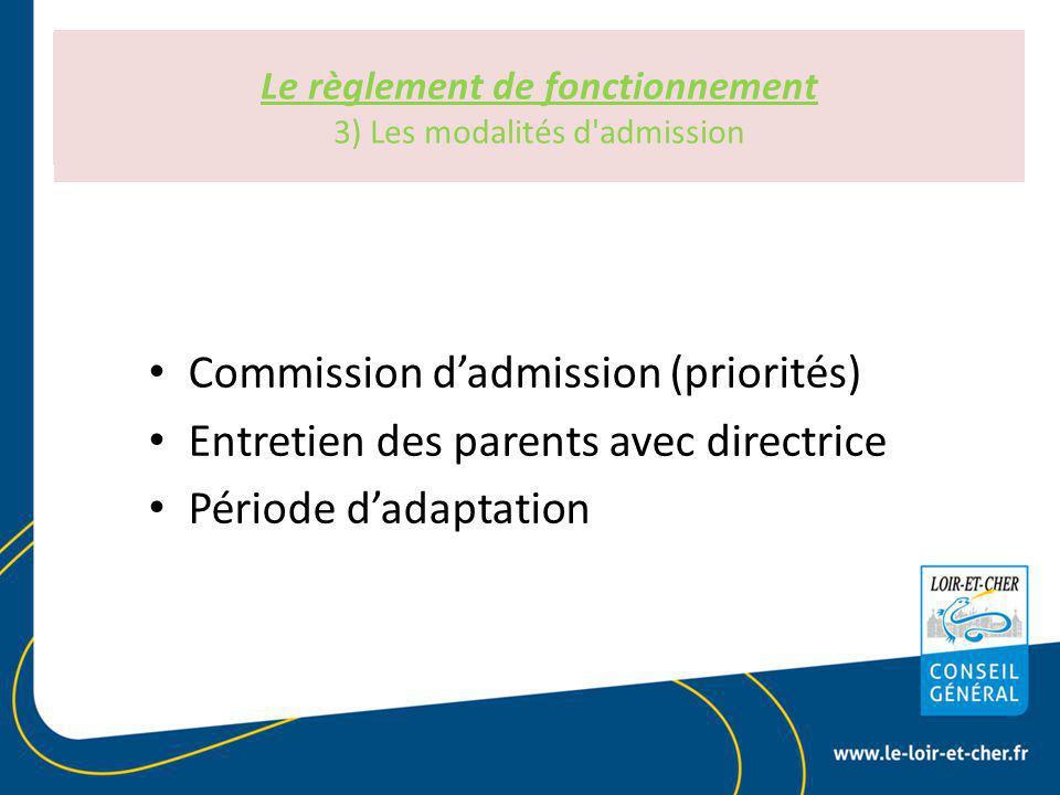 Le règlement de fonctionnement Art R 2324-30 du CSP