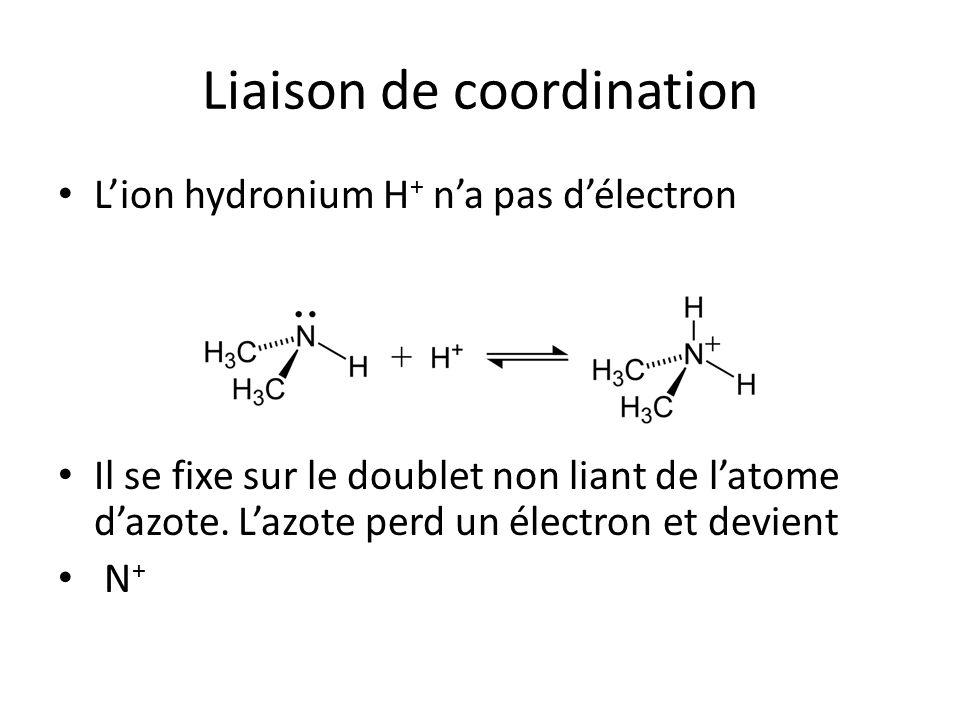 Liaison de coordination