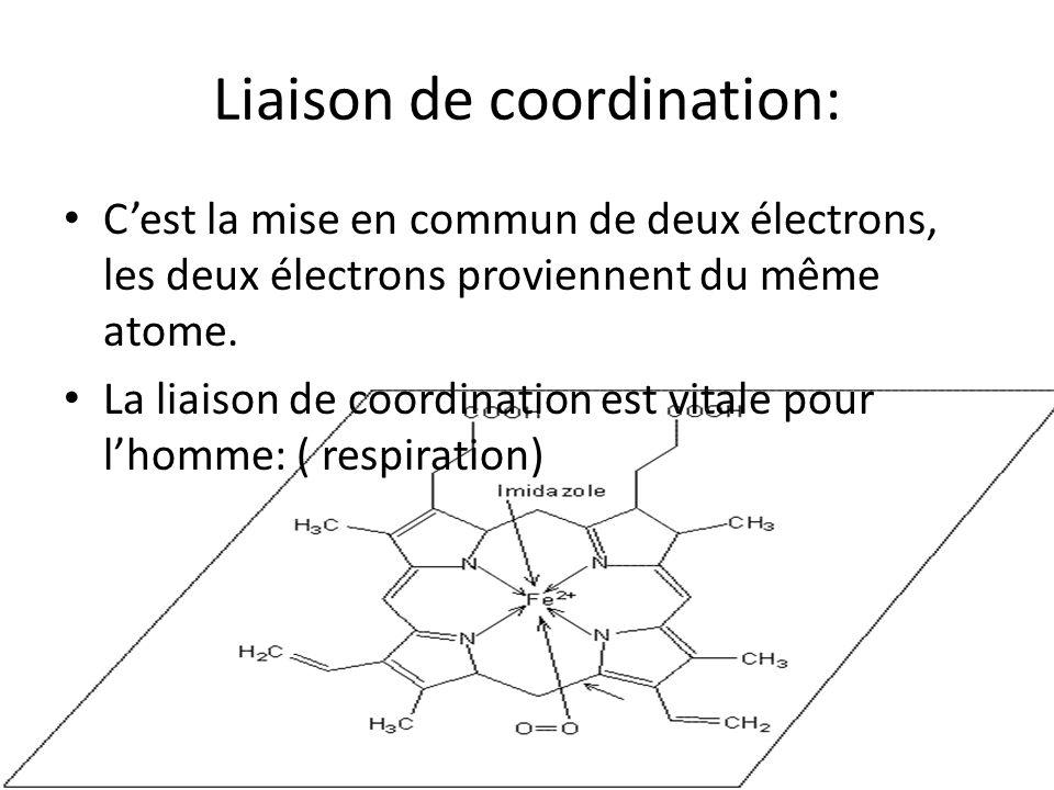 Liaison de coordination: