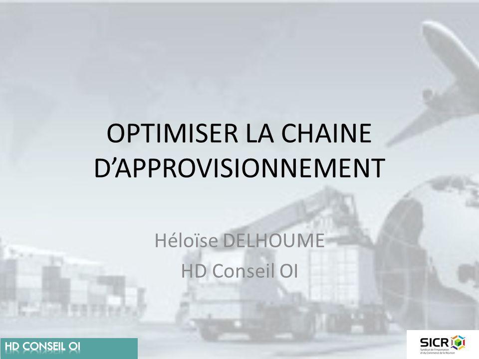 OPTIMISER LA CHAINE D'APPROVISIONNEMENT
