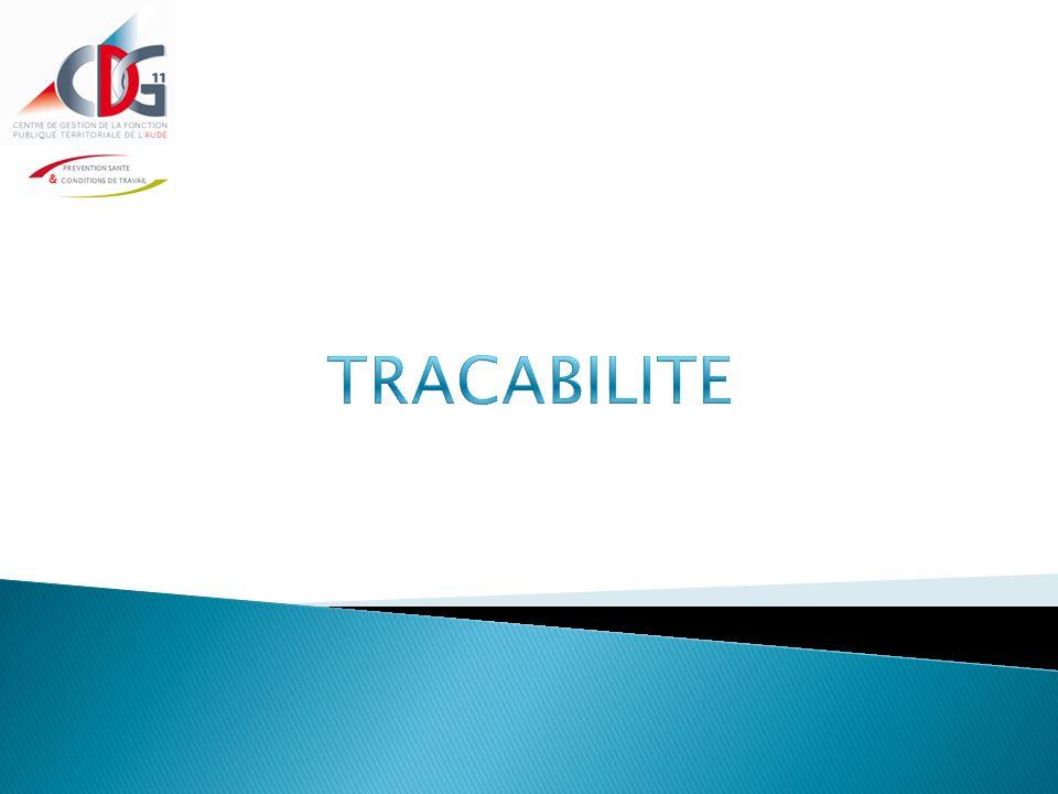 TRACABILITE