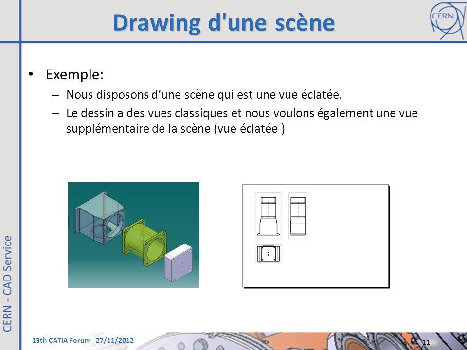 Drawing d une scène Exemple: