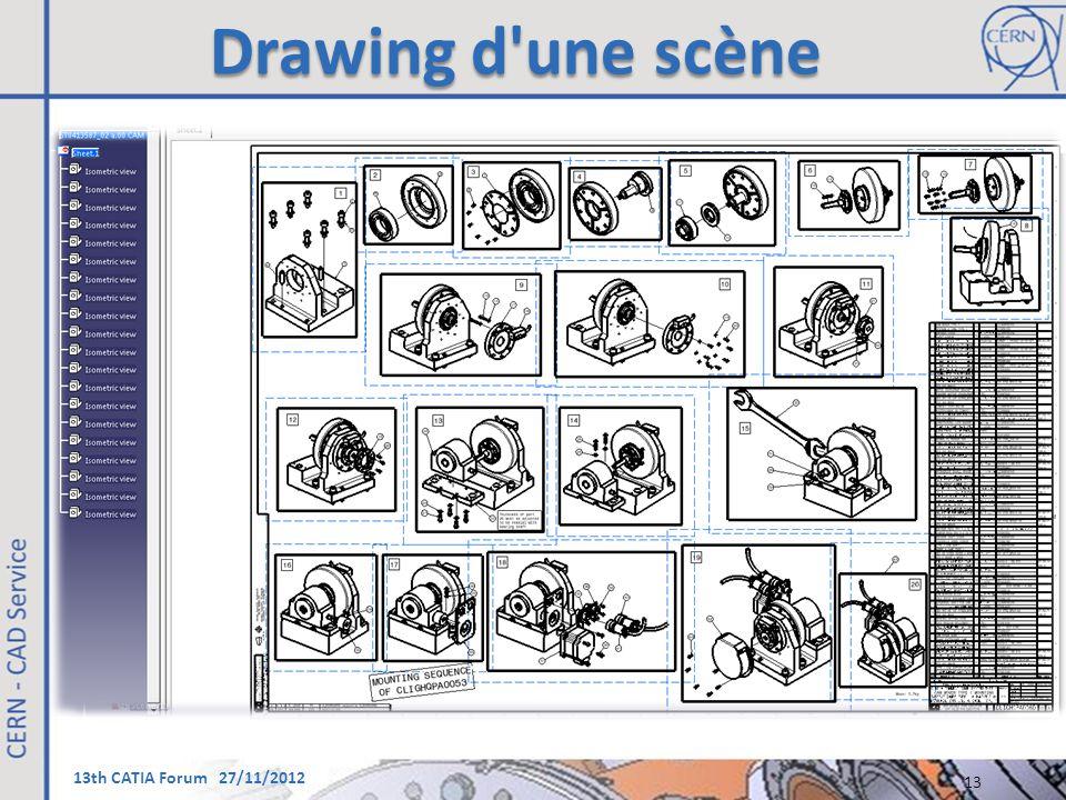 Drawing d une scène