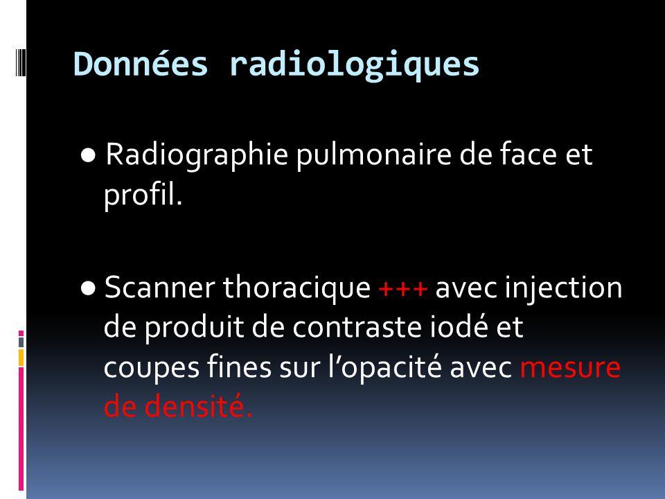 Données radiologiques