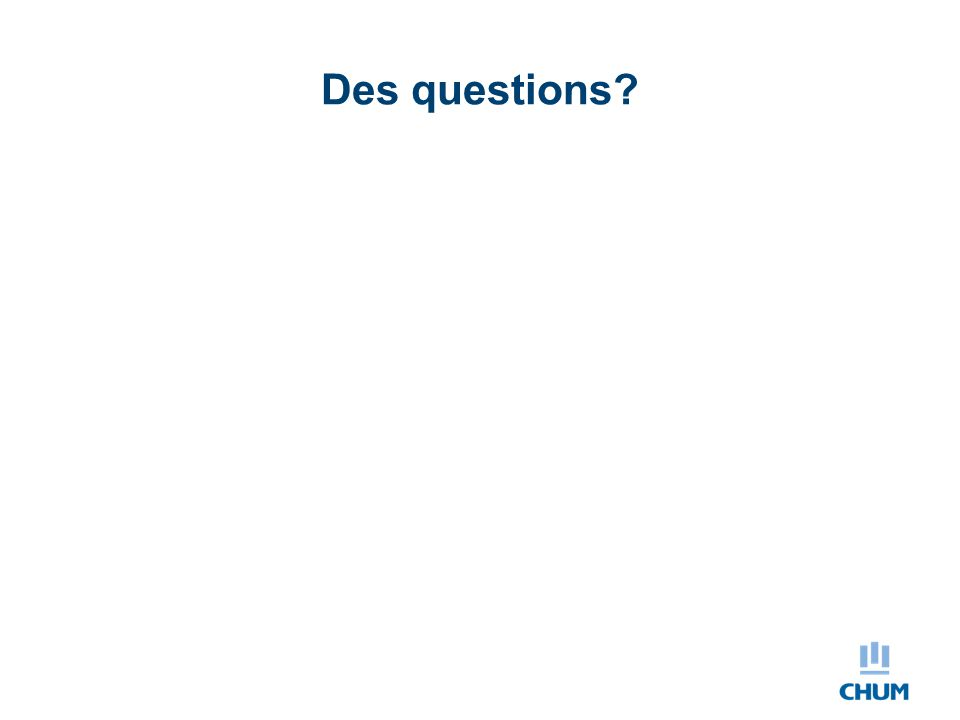 Des questions Support informationnel Délai entre les observations