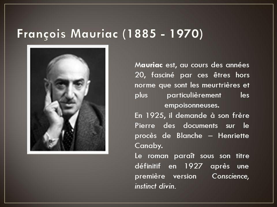 François Mauriac (1885 - 1970)