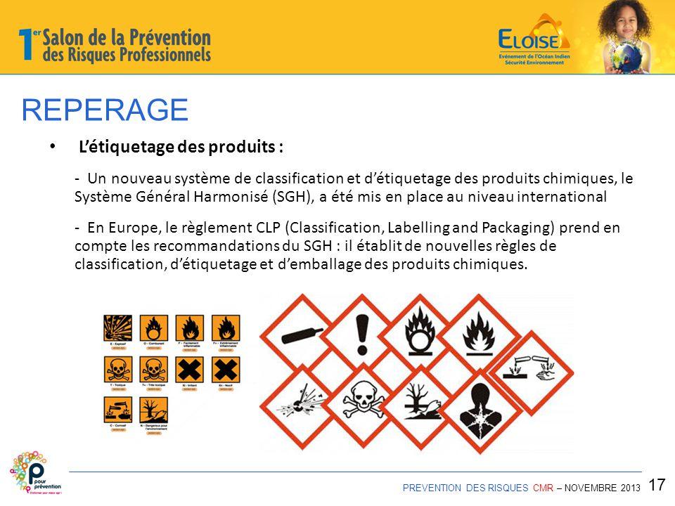 REPERAGE L'étiquetage des produits : 17