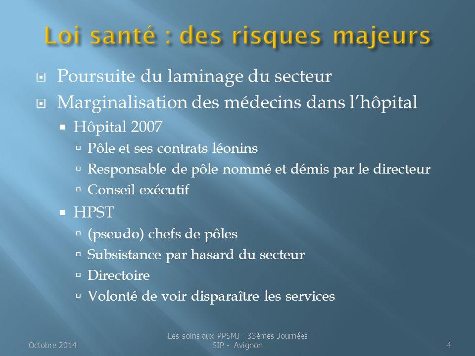 Loi santé : des risques majeurs