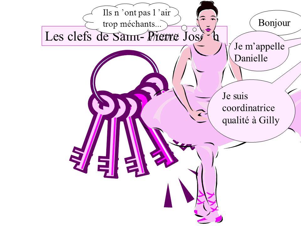 Les clefs de Saint- Pierre Joseph