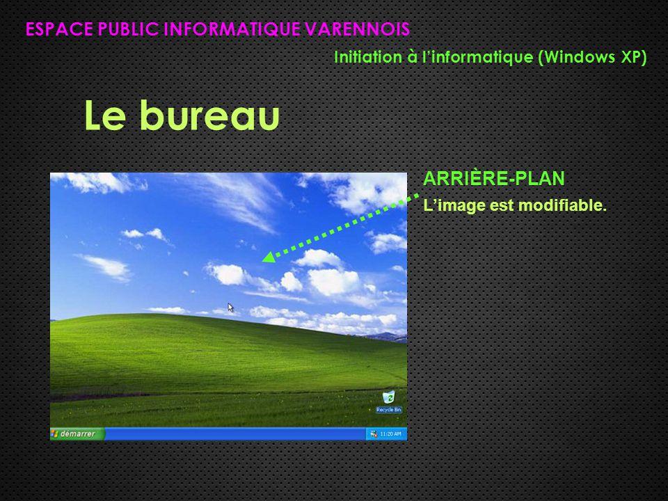 Le bureau ESPACE PUBLIC INFORMATIQUE VARENNOIS ARRIÈRE-PLAN
