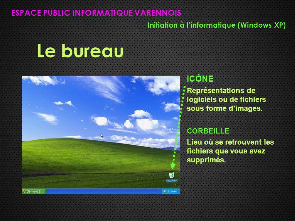 Le bureau ESPACE PUBLIC INFORMATIQUE VARENNOIS ICÔNE