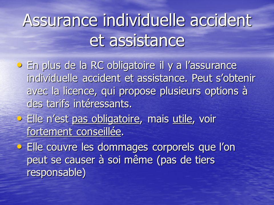 Assurance individuelle accident et assistance