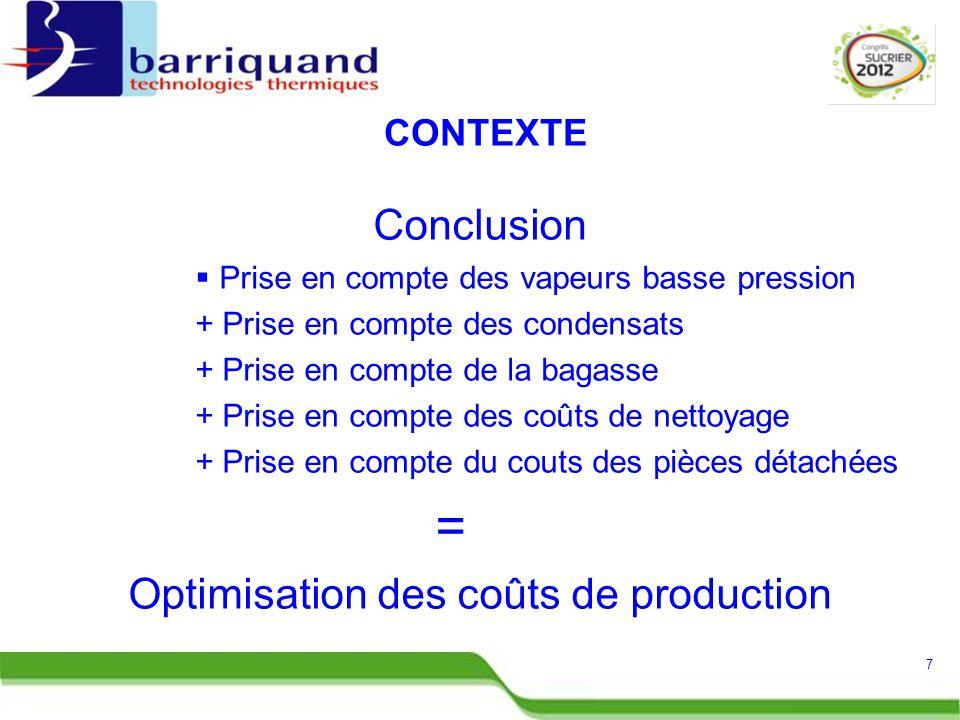 Optimisation des coûts de production